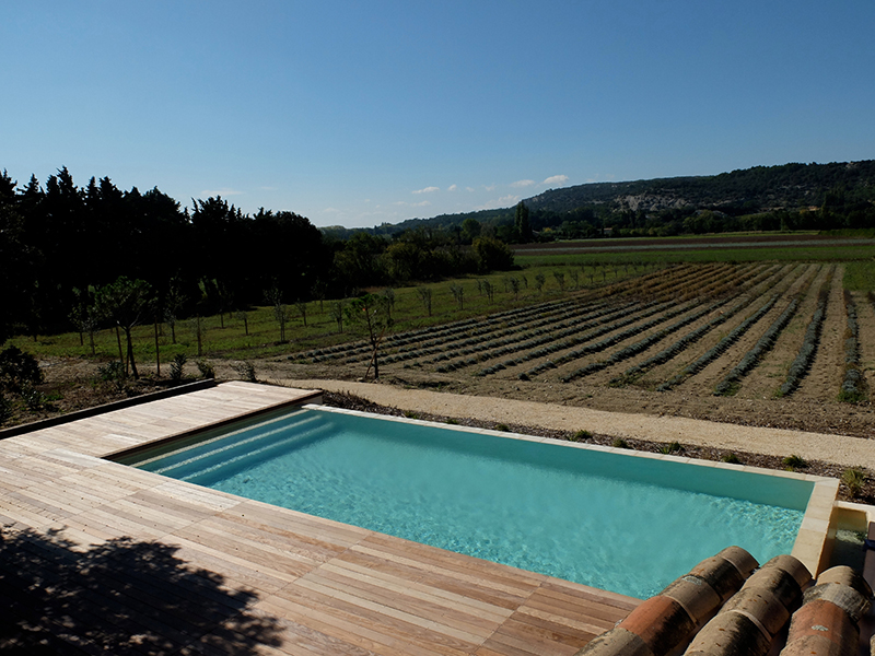 La piscine vue de haut les pierres for La piscine in english
