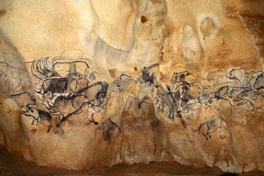Grotte Chauvet - La grande Fresque